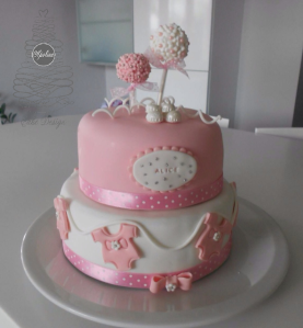Apoline Cake Design - Gateau Baby Shower